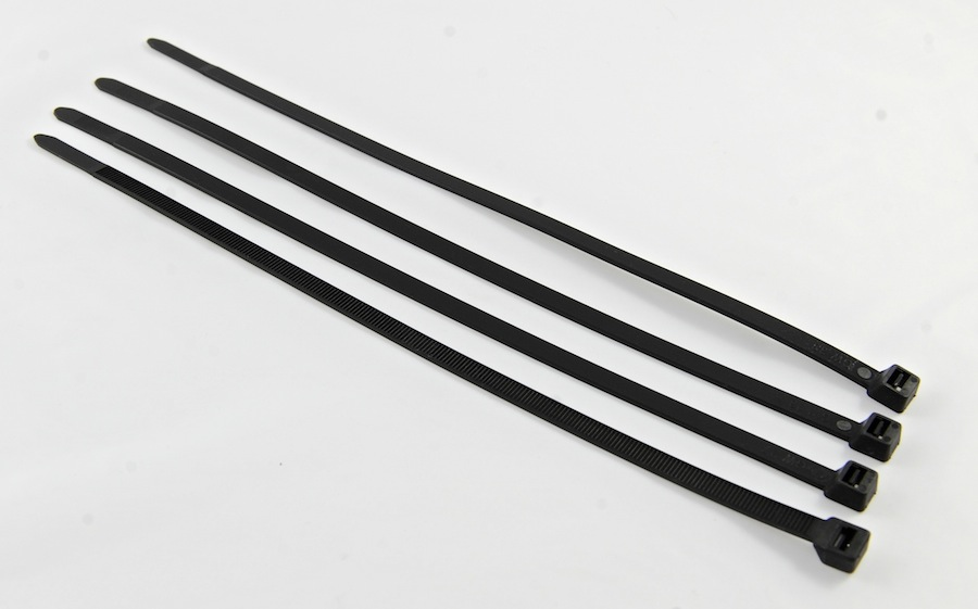 Cable ties (to join the mesh sections together)